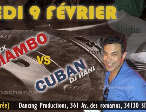 Février 2019 : stages & soirée Latino