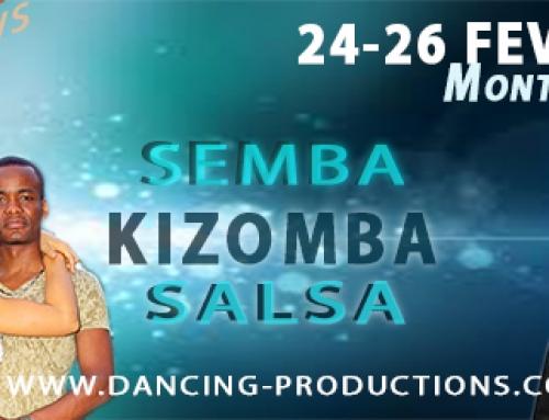 Février 2017 : stages kizomba et salsa