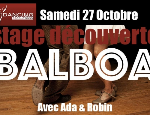 Octobre 2018 : stage découverte balboa